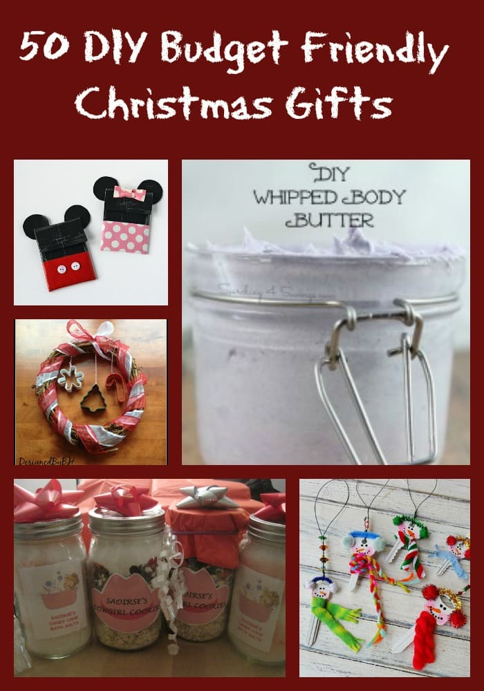 DIY Budget Friendly Homemade Gifts