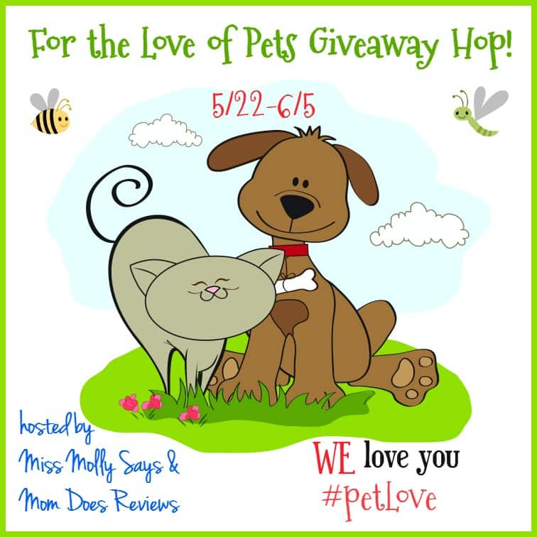 For the Love of Pets Giveaway Hop