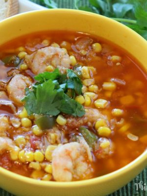 Cajun Shrimp Maque Choux