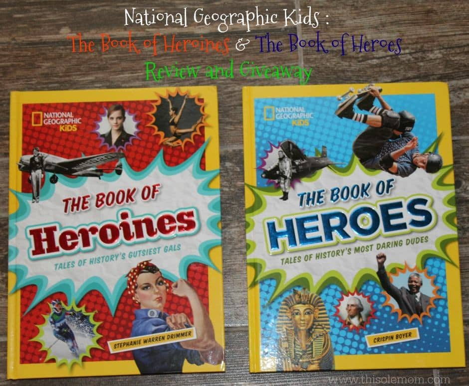National Geographic Kids Books Tales of History