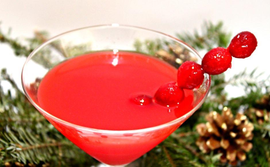 Vodka Infused Cranberries