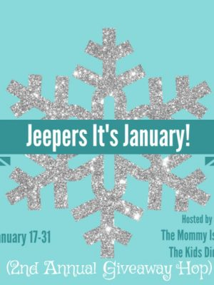 2nd Annual JEEPERS! It's January Giveaway Hop!