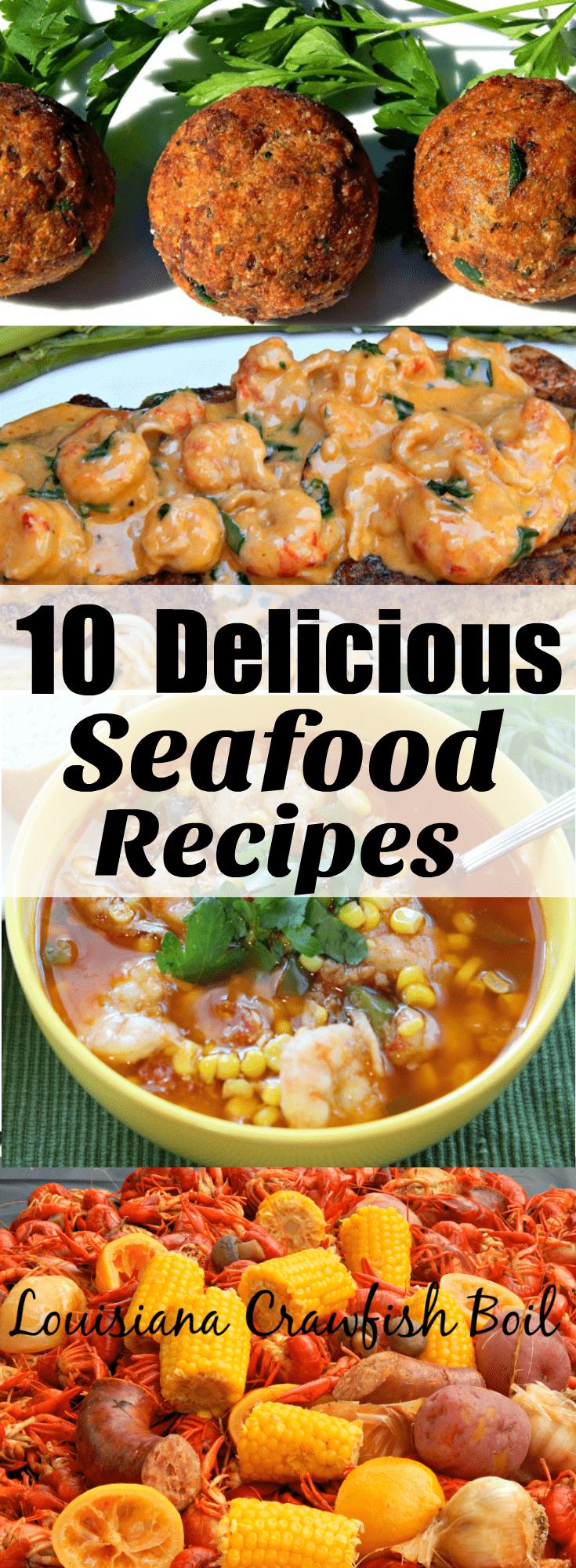 10 Delicious Seafood recipes