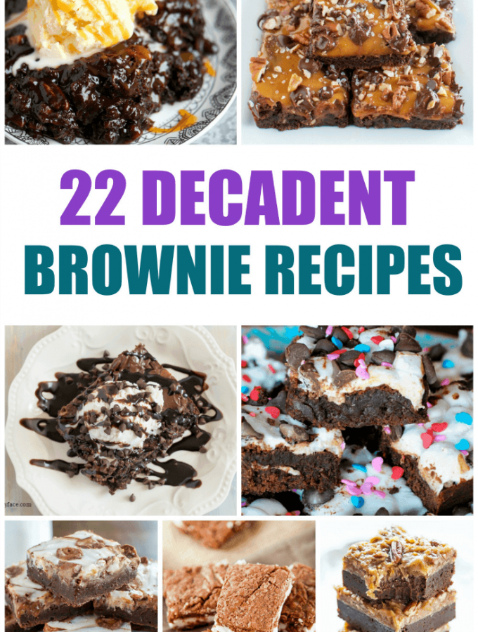 22 Decadent Brownie Recipes