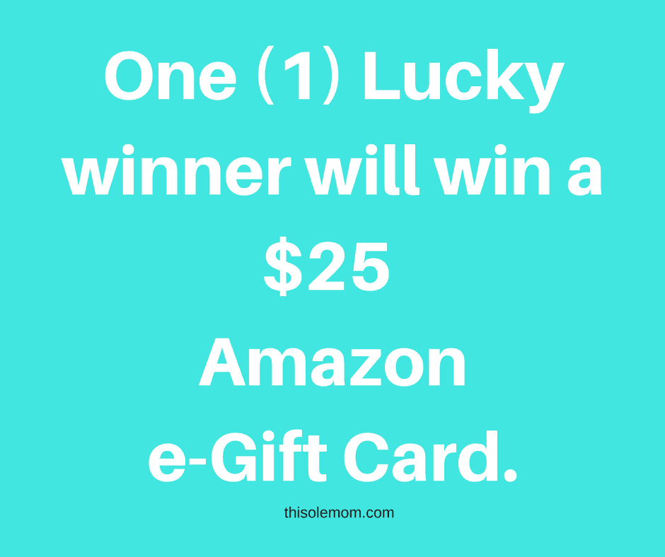 $25 Amazon e-gift card giveaway