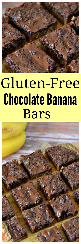 Gluten-Free Chocolate Banana Bars
