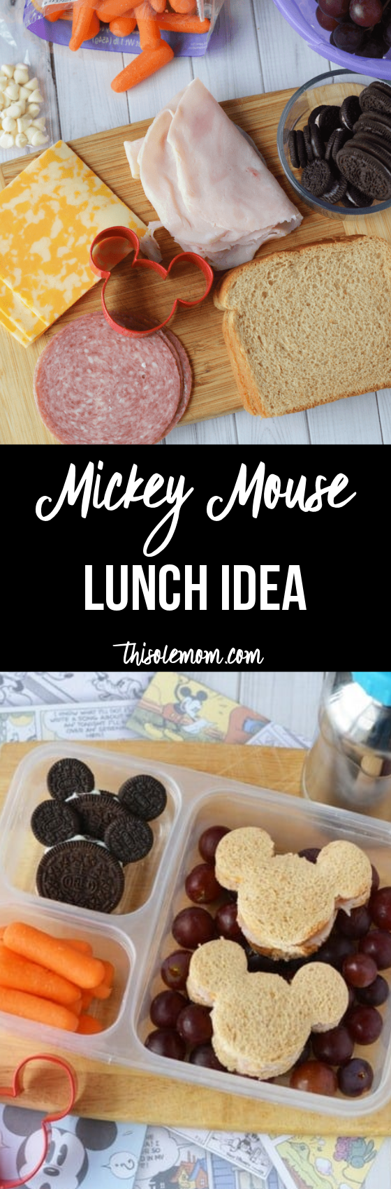 Mickey Mouse Lunch Idea