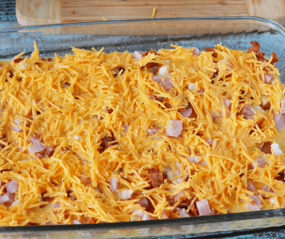 Cheese on Casserole