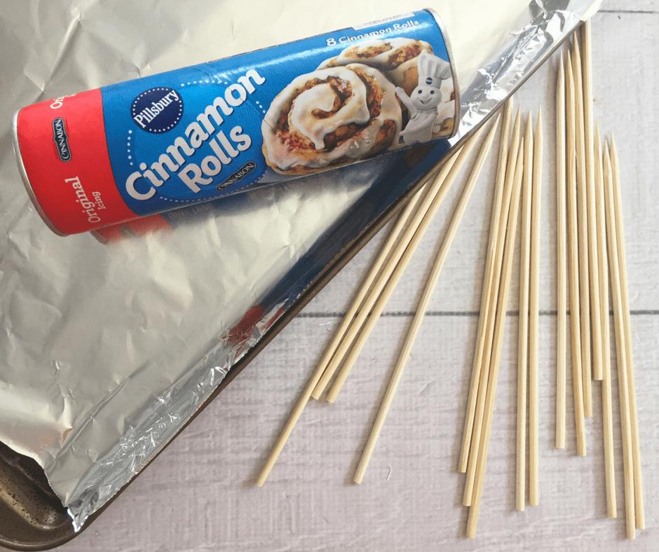 Cinnamon Roll Lollipops Ingredients