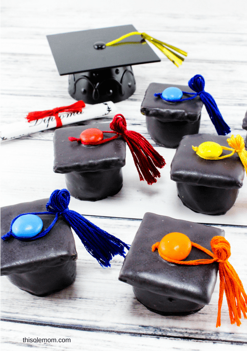 Fun Graduation Caps Recipe