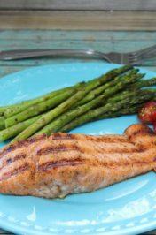 Indoor Grilled Cajun Salmon Recipe