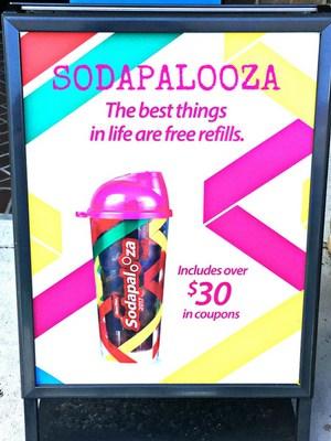 Sodapalooza Cups at RaceTrac