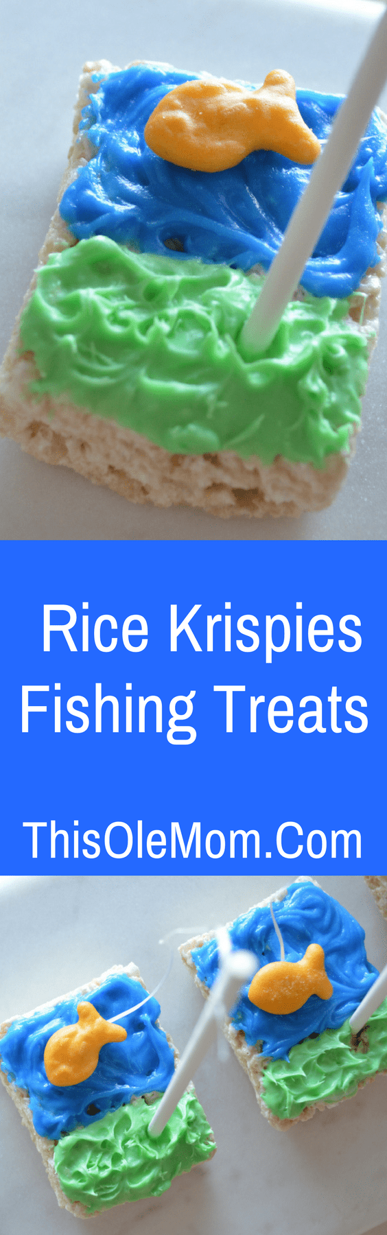 Rice Krispies Fishing Treats