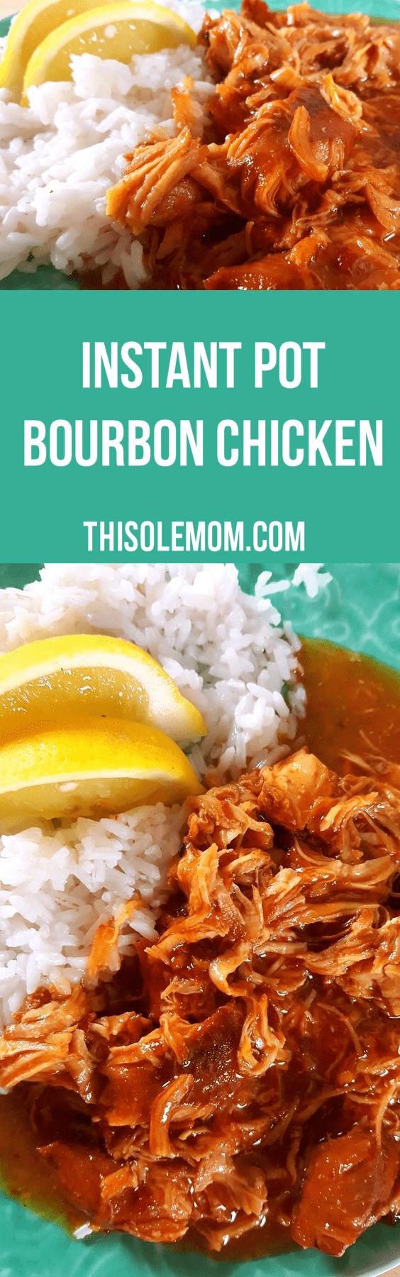 Instant Pot Bourbon Chicken Recipe