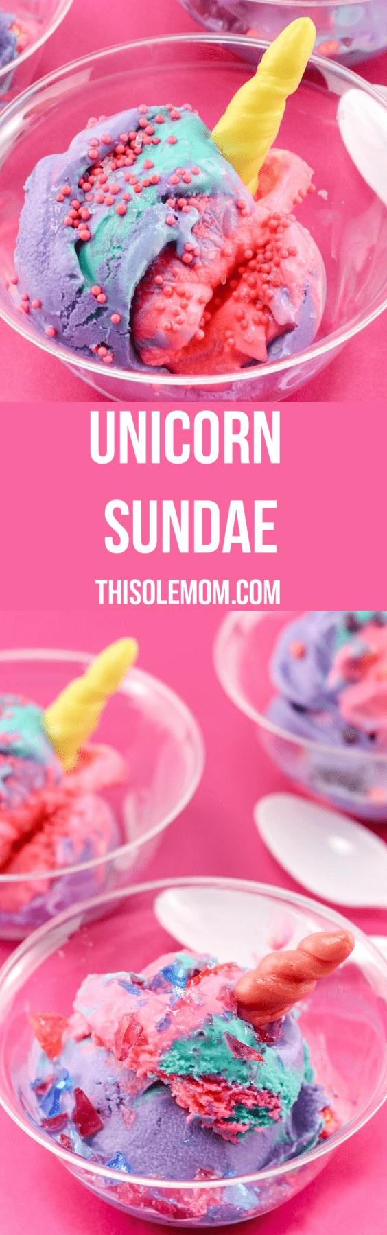 Unicorn Sundae