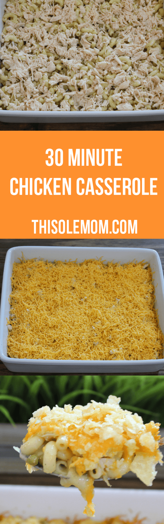 30 Minute Chicken Casserole