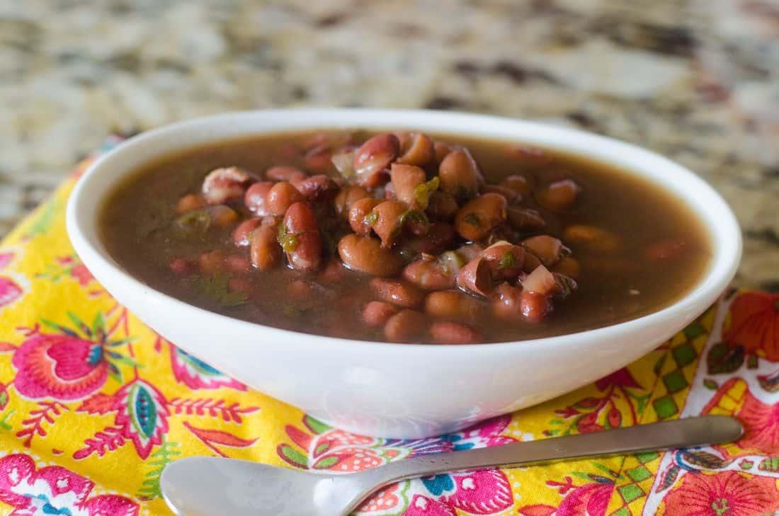 Instant Pot Two Bean Soup