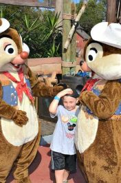 Meeting Characters at Walt Disney World