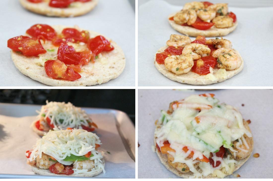Cajun Shrimp Pizza with Veggies
