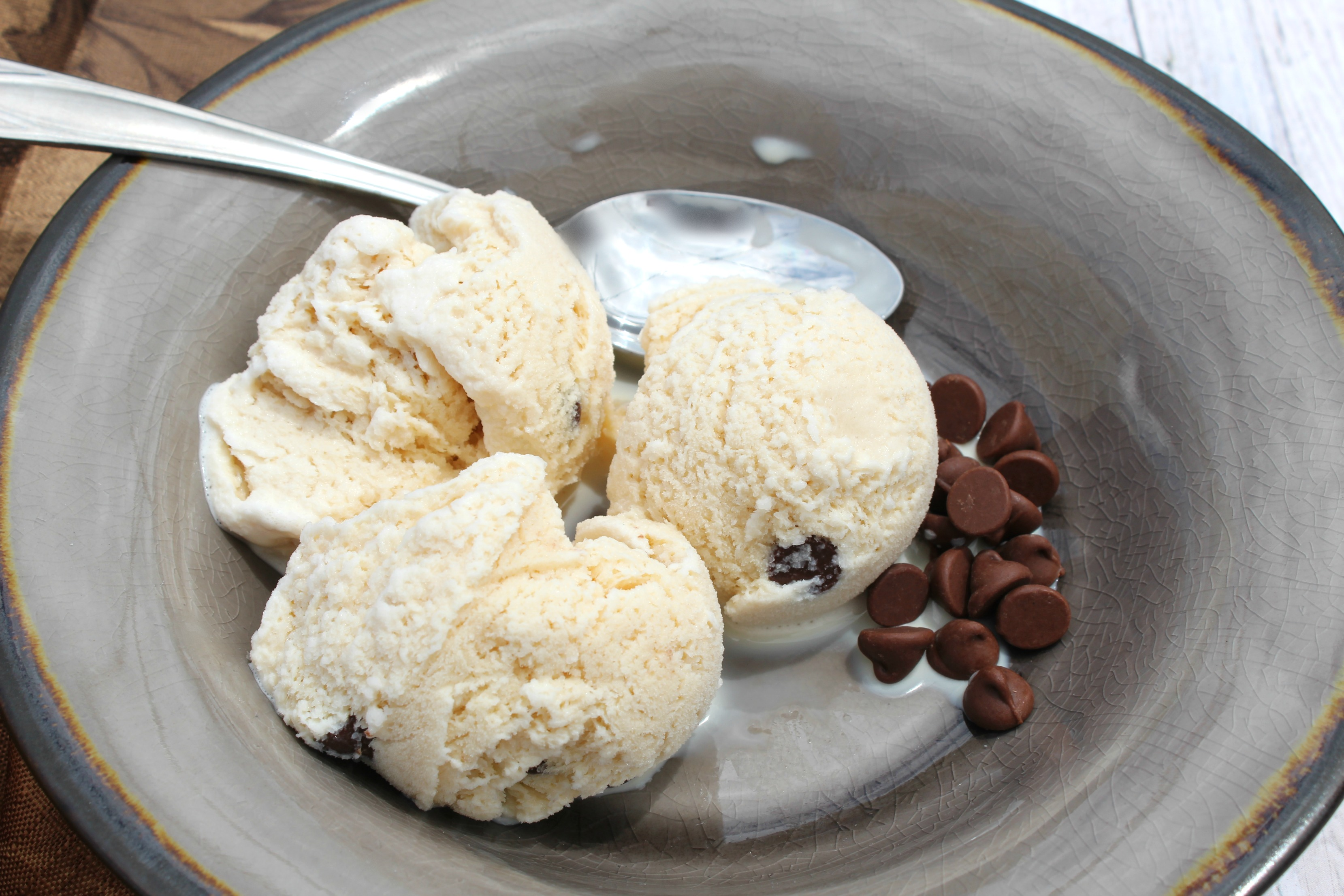 No Churn Homemade Coffee Ice Cream