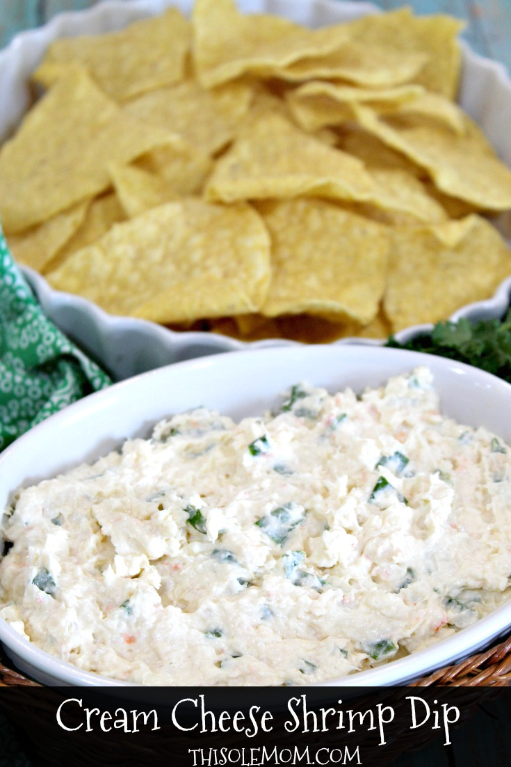 Best Ever Cream Cheese Shrimp Dip