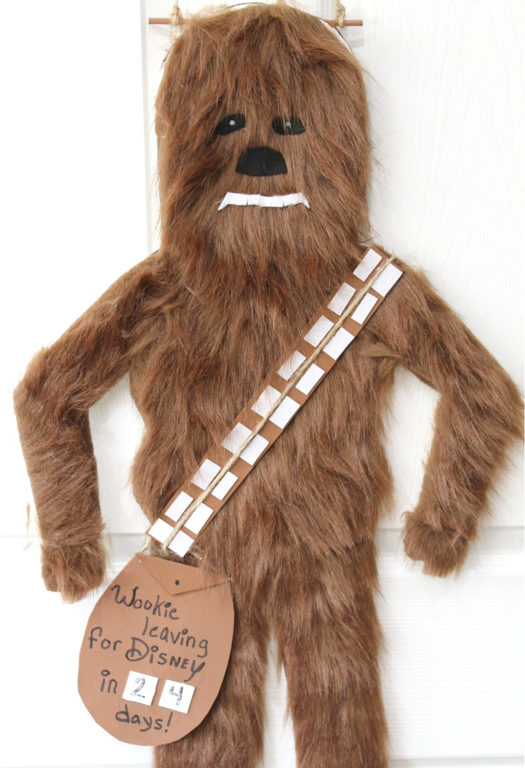 Chewbacca Disney Countdown