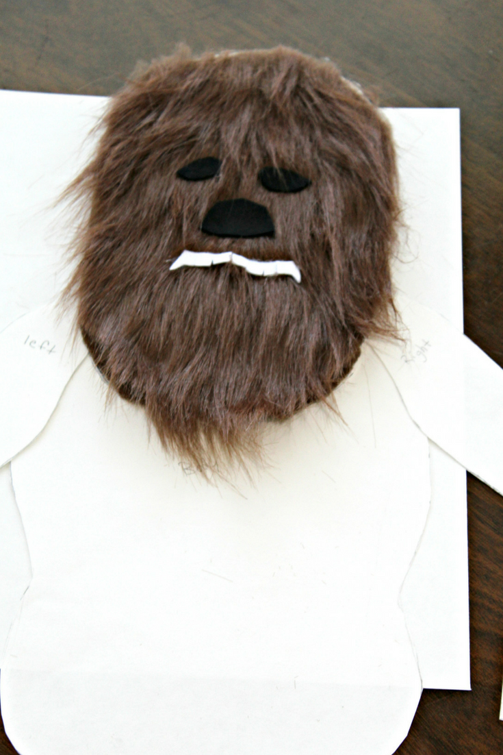 Chewbaccas Furry Head