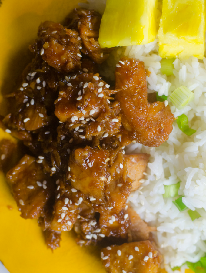 Instant Pot Teriyaki Pork Recipe
