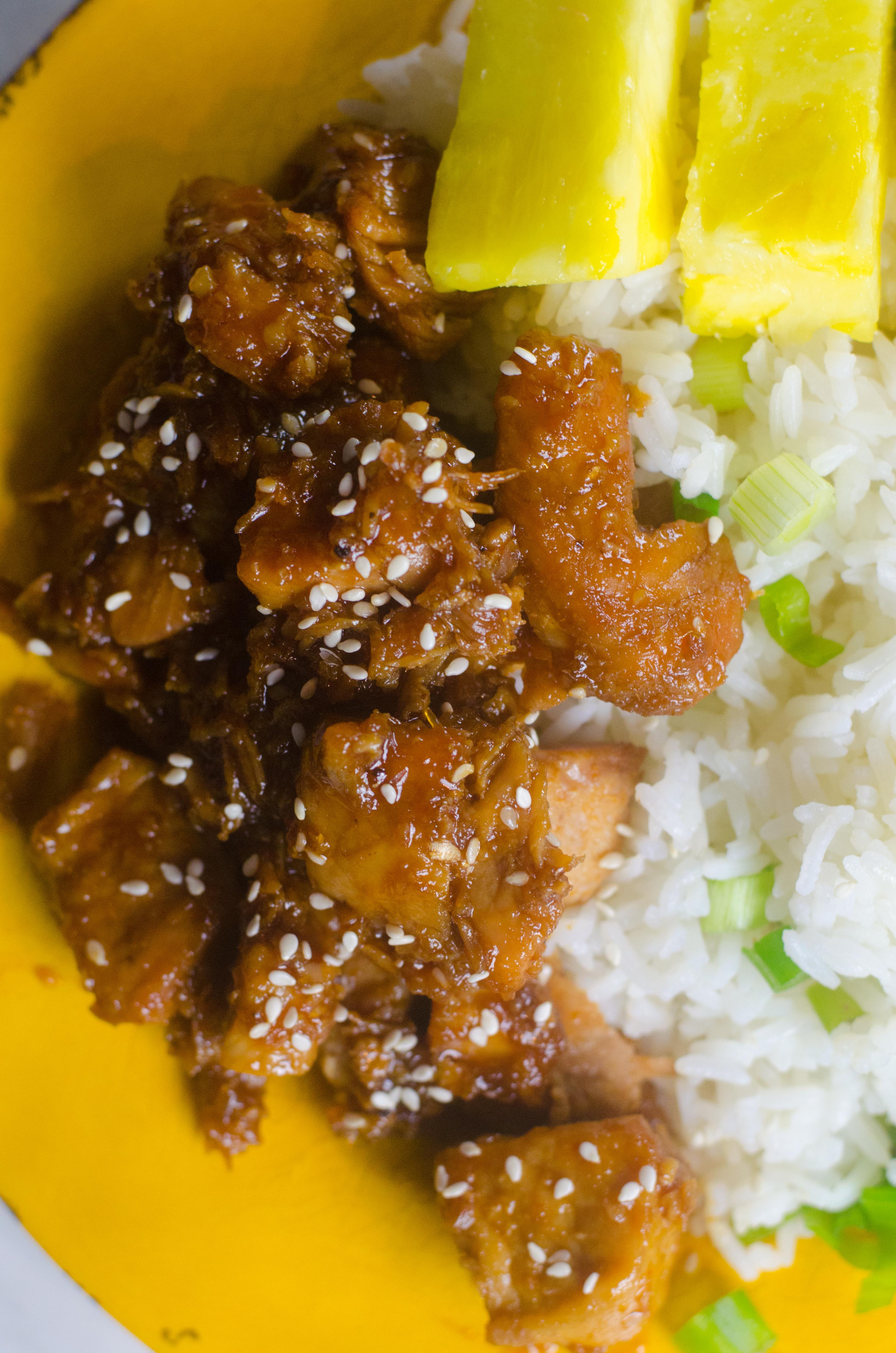Instant Pot Teriyaki Pork Recipe