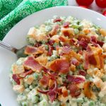 Summer Bacon Pea Salad