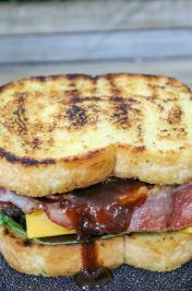 Grilled Jalapeno Bacon Cheeseburger