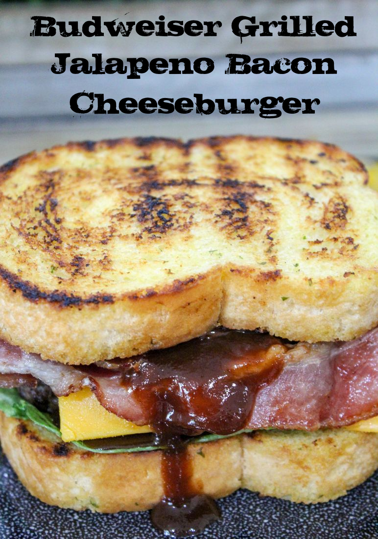 Budweiser Grilled Jalapeno Bacon Cheeseburger