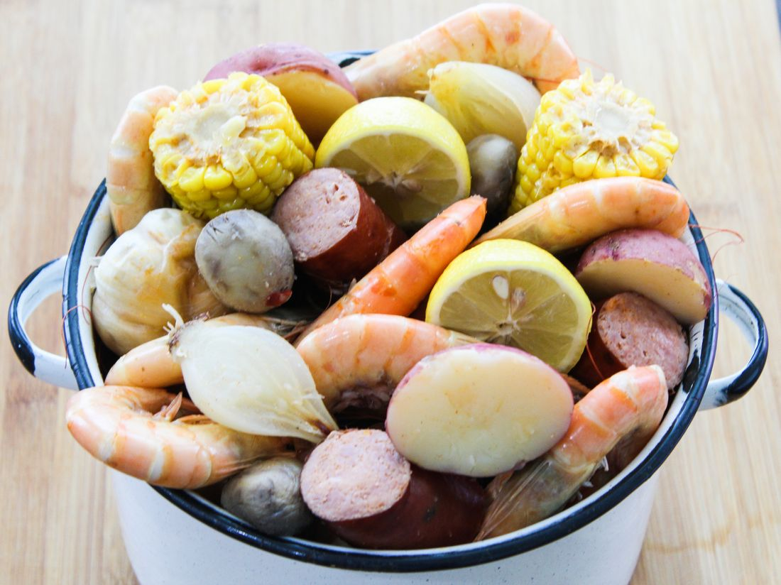 Spicy Cajun Shrimp Boil
