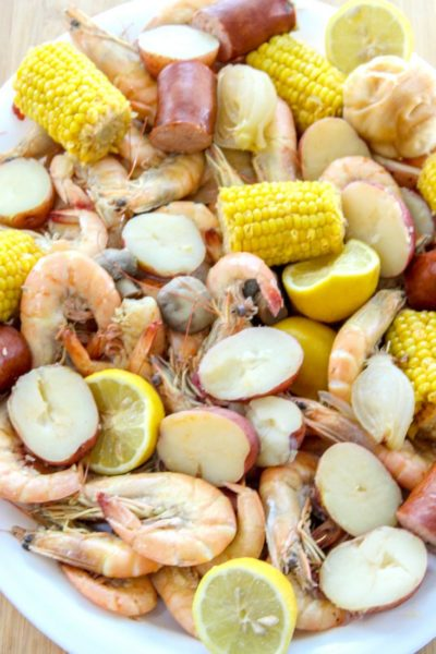 Cajun Spicy Shrimp Boil