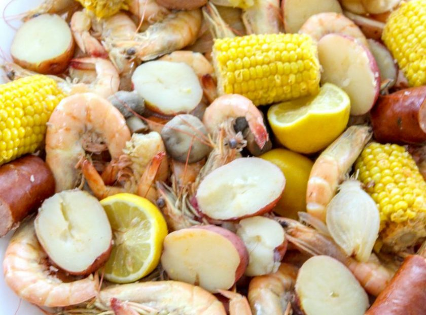 Spicy Cajun Shrimp Boil