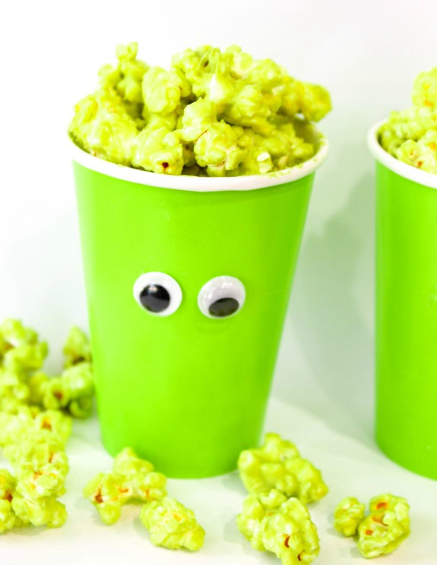Blobby Popcorn Cups