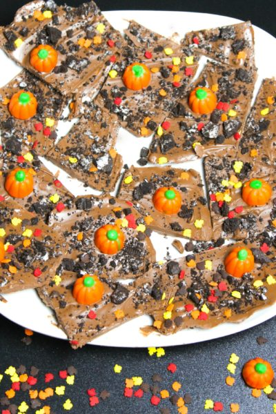 Pumpkin Patch Oreo Bark