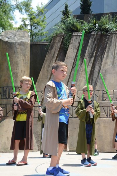 Jedi Training at Walt Disney World