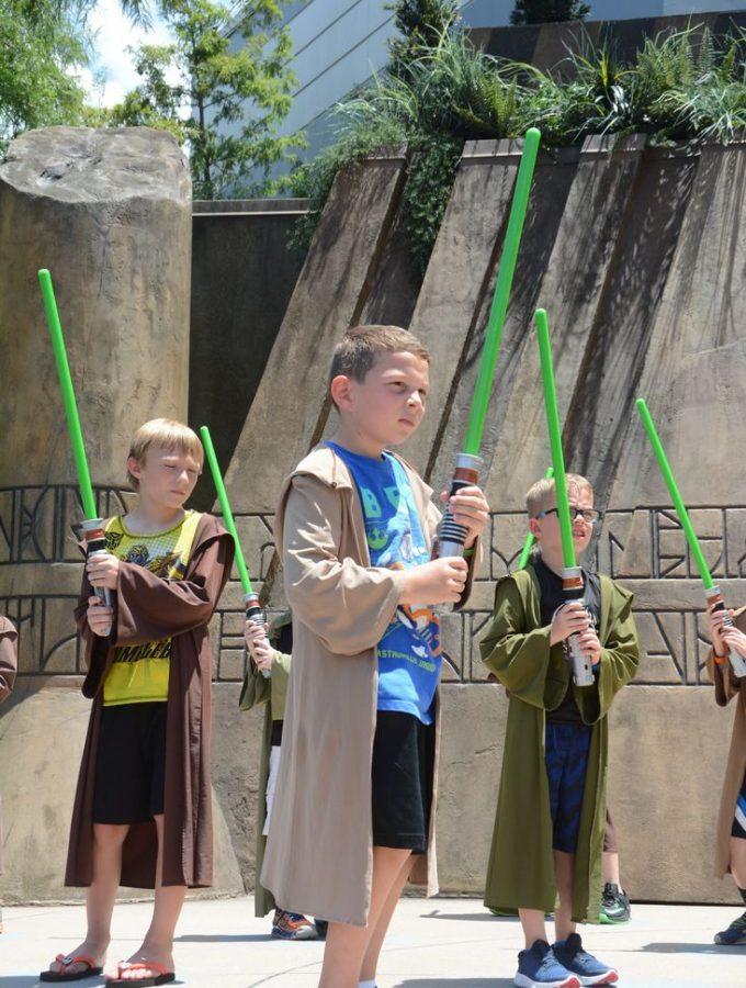 Jedi Training at Walt Disney World