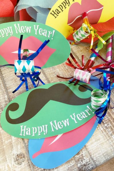 New Year's Eve Noisemaker Printables