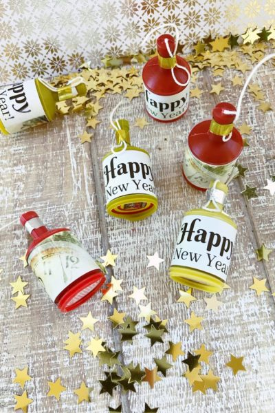 New Year's Eve Party Popper Printables