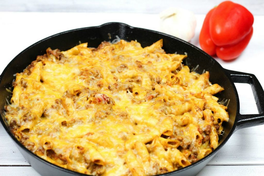 Cheesy Taco Penne Ziti