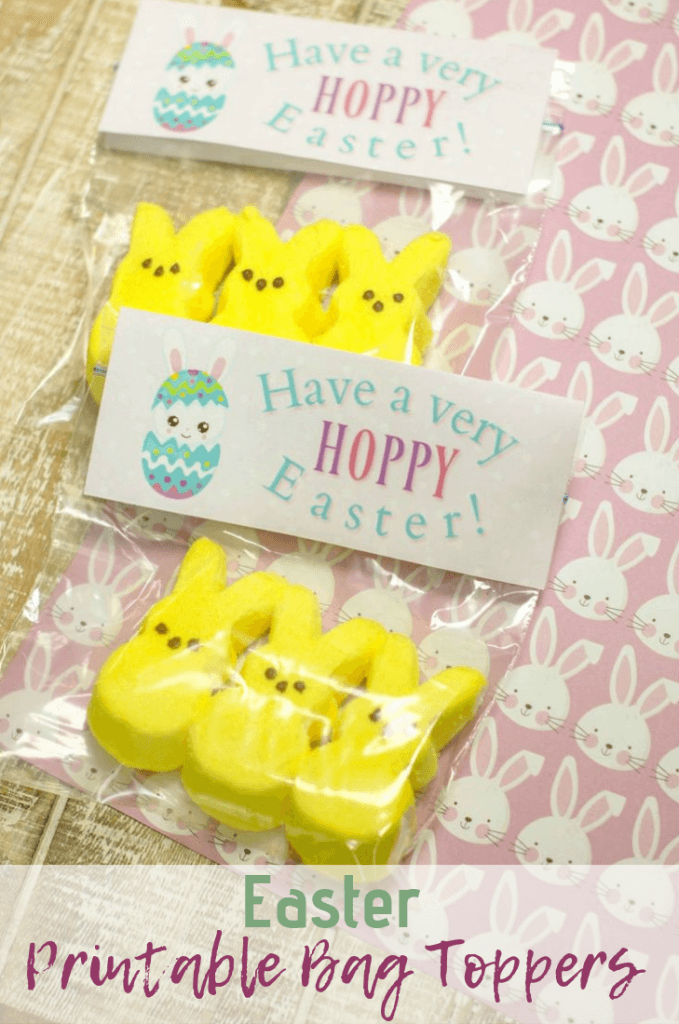 Easter Printable Bag Toppers