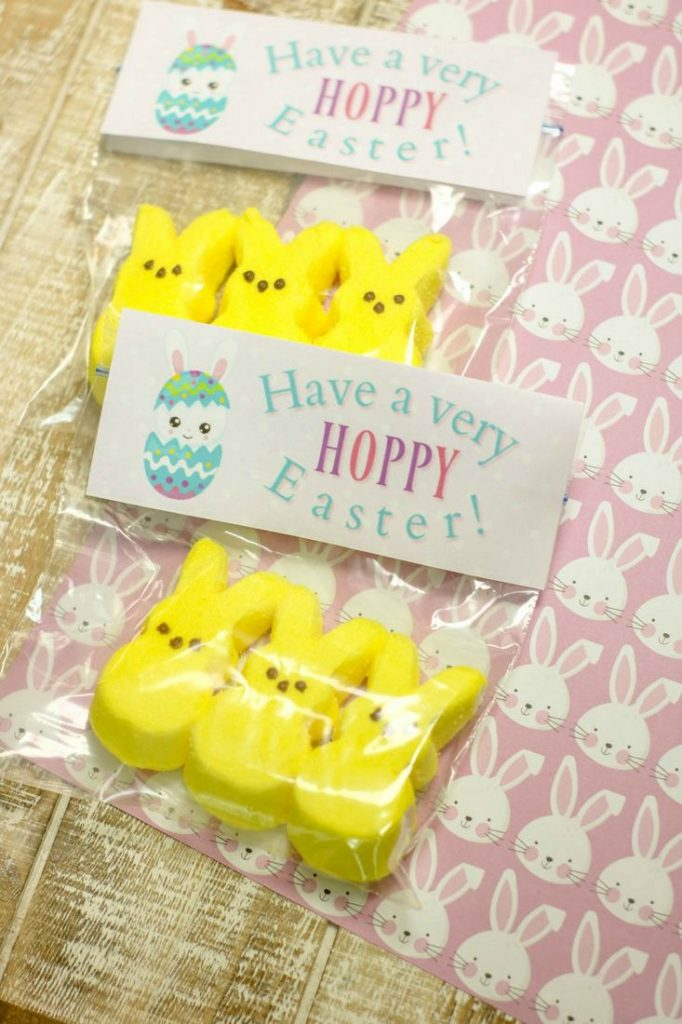 image relating to Printable Bag Toppers titled Easter Printable Bag Toppers - This Ole Mother