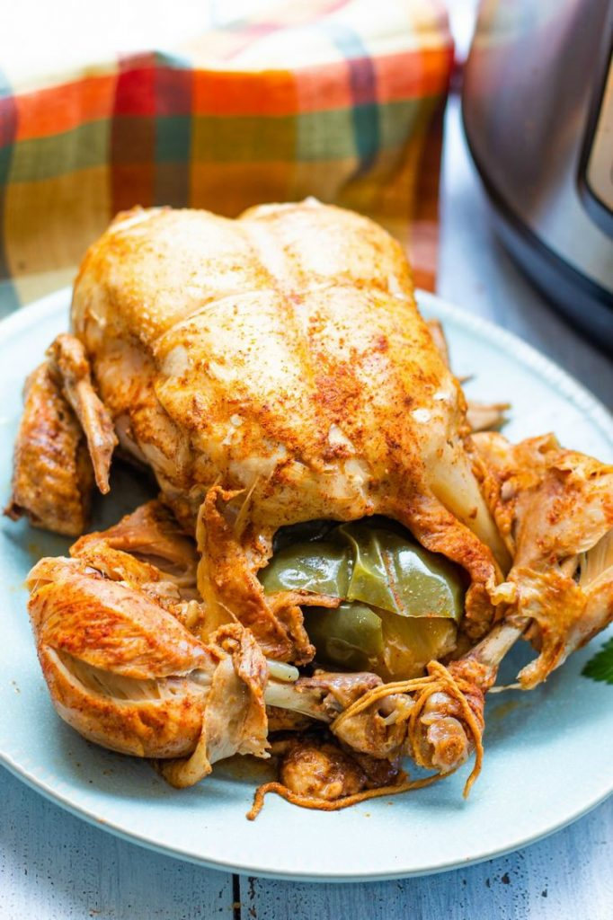 Instant Pot Cajun Whole Chicken