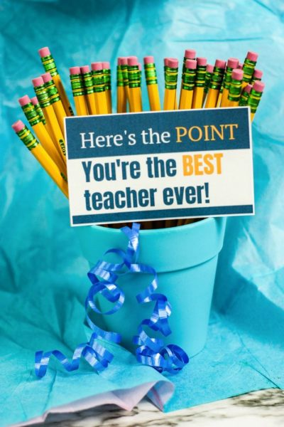 Teacher Appreciation Printable Gift Tags