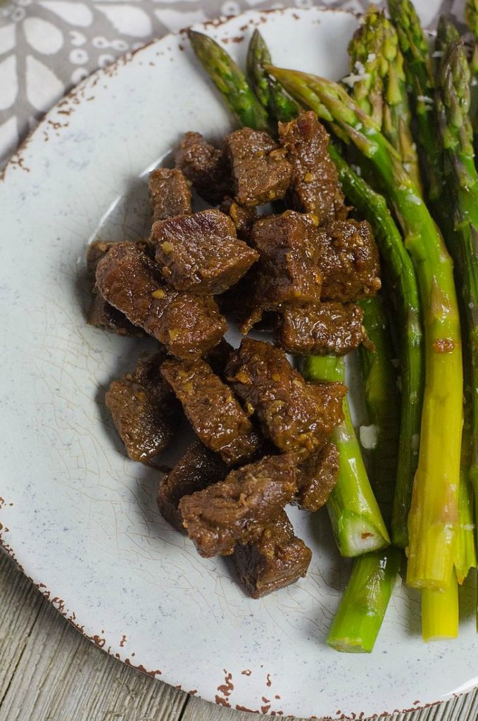 Instant Pot Teriyaki Steak Bites