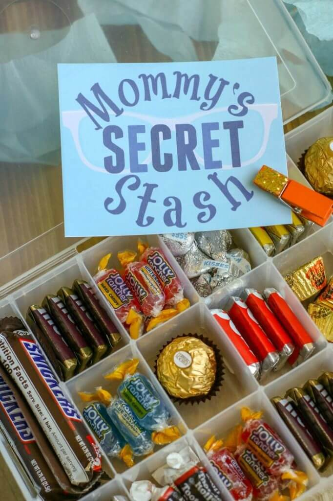 Mommy's Secret Candy Stash Box