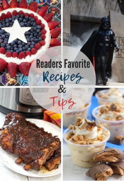 Readers Favorite Recipes and Tips