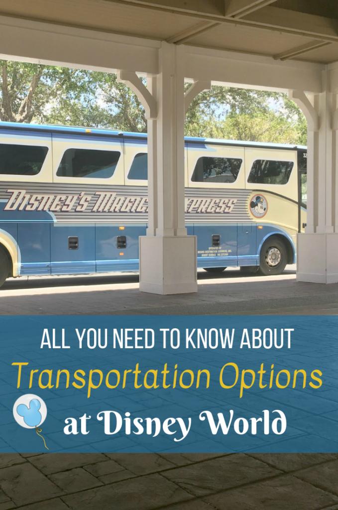 Transportation Options at Disney World